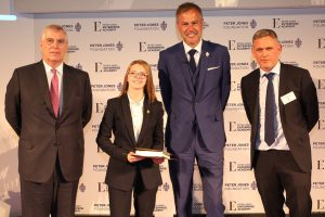 Paige Kendall won the Peter Jones Enterprise Academy's 'Level 3 Student of the Year' award